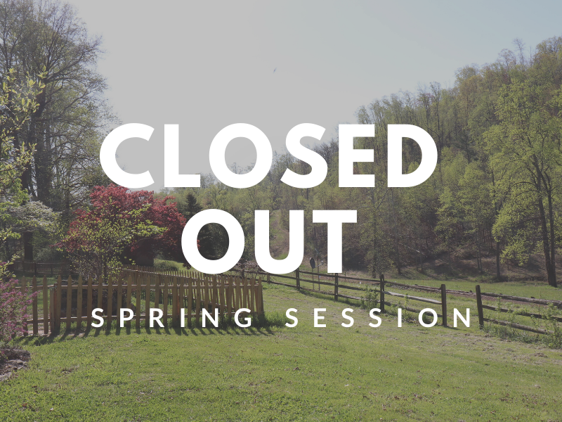 spring session-closedout