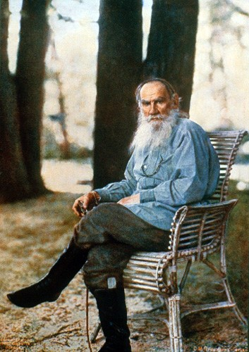 Tolstoy.