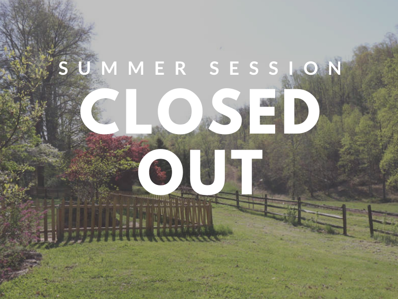 summer session-closedout